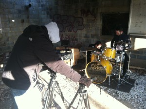 music video shooting