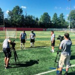 Lacrosse Video shoot